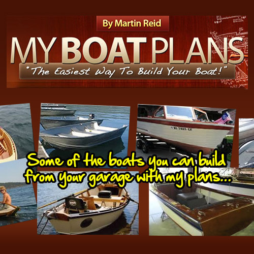 My Boat Plans - The easiest way to build your boat