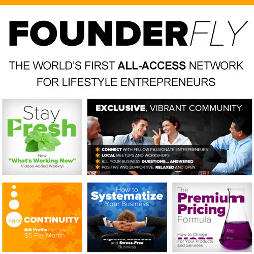 Founder Fly - World's first all-access network